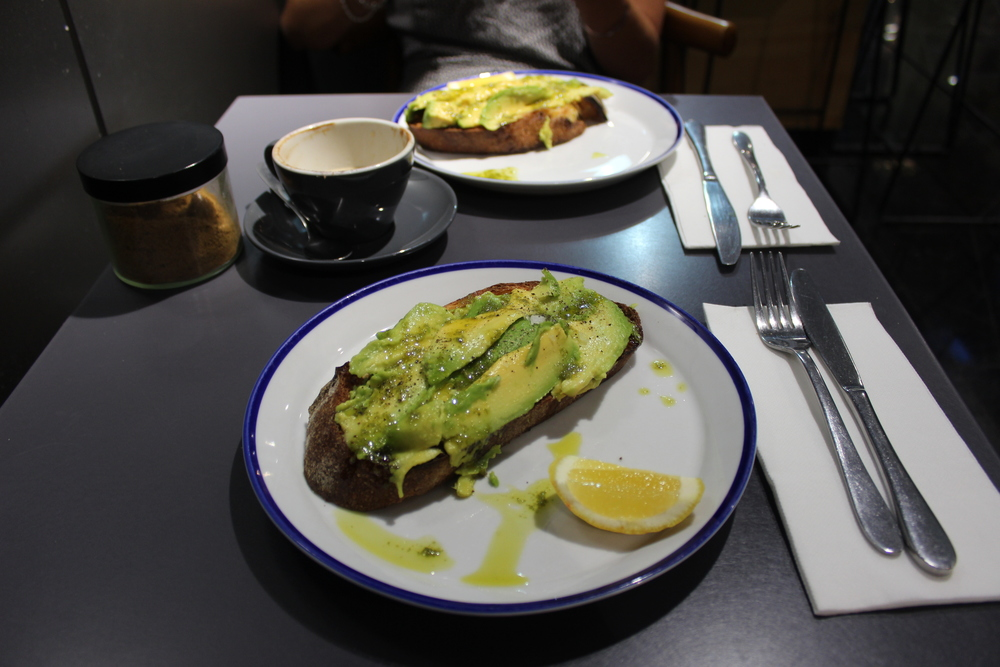 Gramercy Coffee - Avo' on Toast
