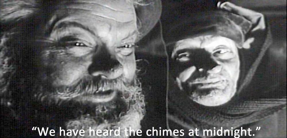 Image du film « Falstaff - Chimes at Midnight », de et avec Orson Welles