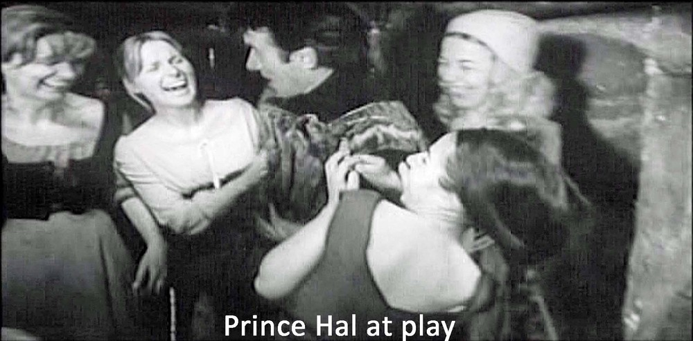 Image du film d'Orson Welles, « Falstaff, Chimes at Midnight ».