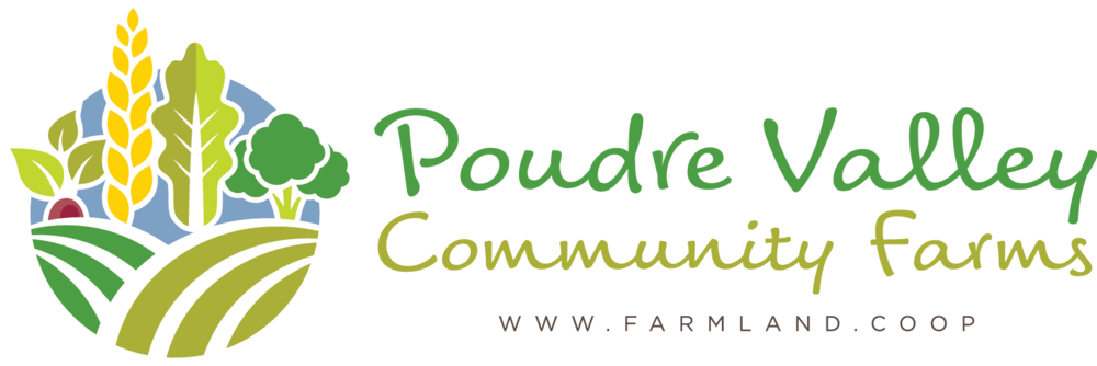 Poudre Valley Community Farms logo