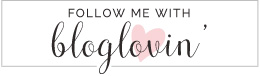 Denver Darling | Lifestyle + Leisure + Love | Blog in Denver, Colorado Bloglovin' Button