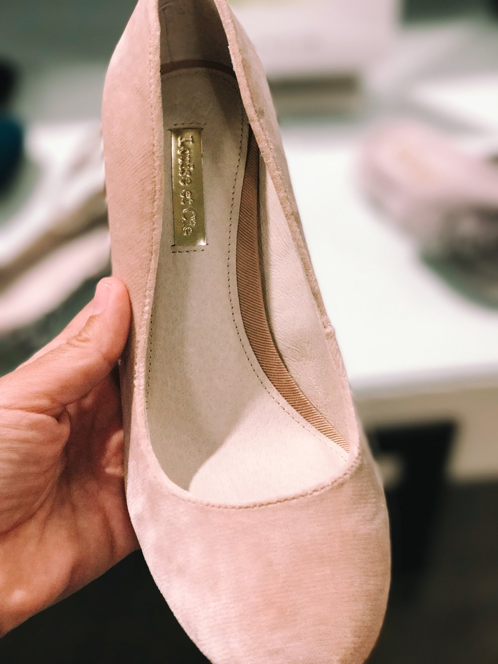 Blush Pumps $79.90