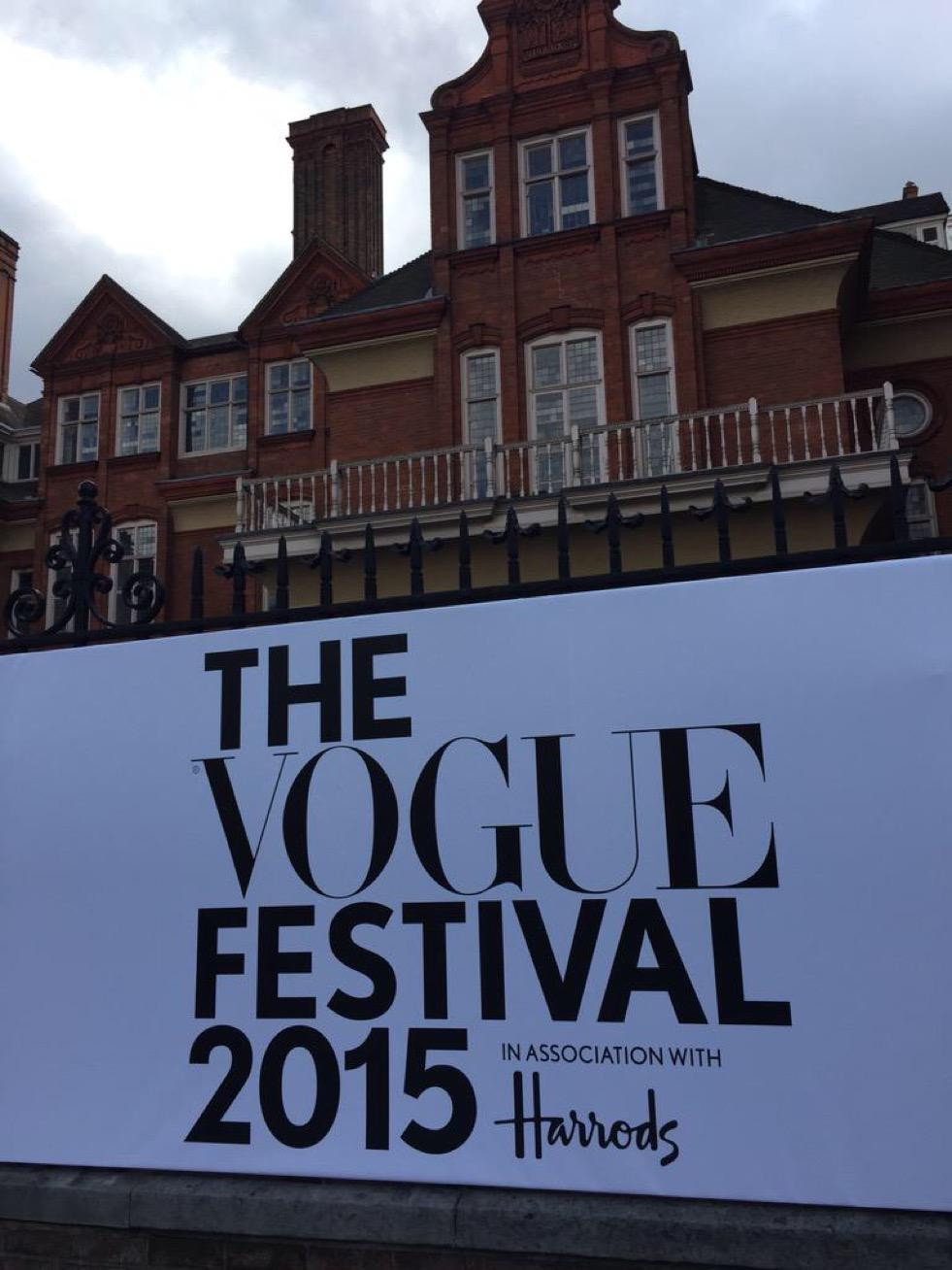 Vogue Festival April 2015