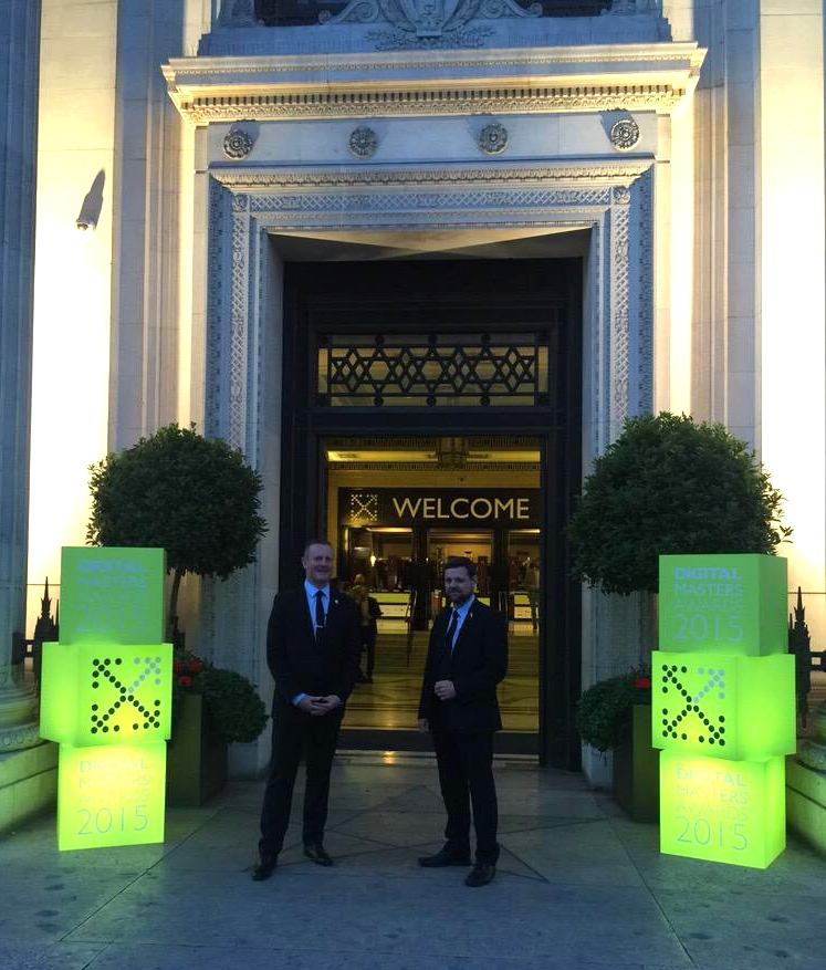 Freemasons Hall Digital Awards 2015