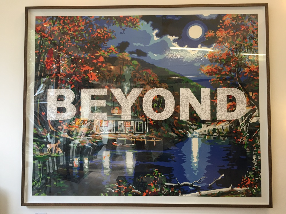 'Beyond' by Benjamin Thomas Taylor as seen in the Truman Brewery, East London