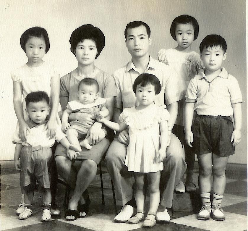 My Ah-ma & Ah-gong as young parents