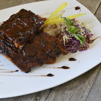 Baby Back Ribs             Pair with Nº 78 Cabernet Sauvignon