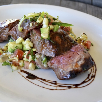 Tri Tip & Corn Avocado Salsa             Pair with Nº 78 Cabernet Sauvignon