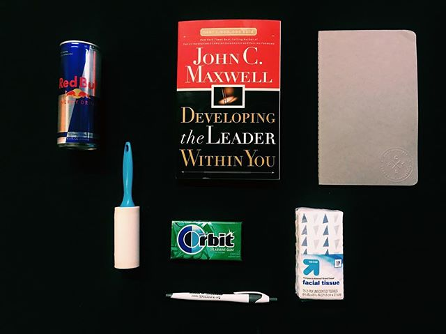 Just a few items you need at all times to survive as a CPSL intern. #OrientationDay