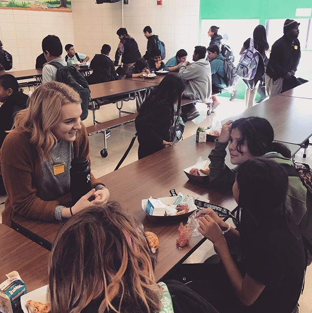 CPSL is all about outreach!!! This week, some of our interns went to Van Buren Middle School to hang out with some students! Such a FUN experience!!! #heretolead #servethecity