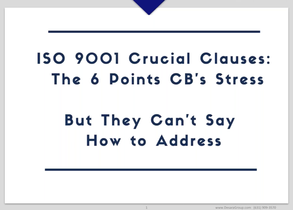 ISO 9001 Crucial Clauses: The 6 Points CB's Stress... But They Can't Say How to Address.png