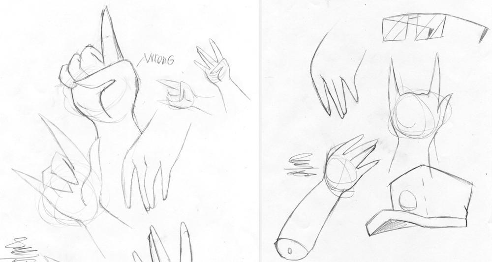 Character Hand Studies