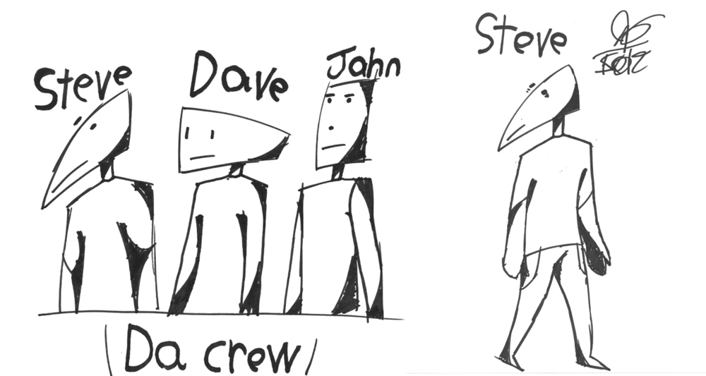 Steve and Friends <i>Da Crew</i>