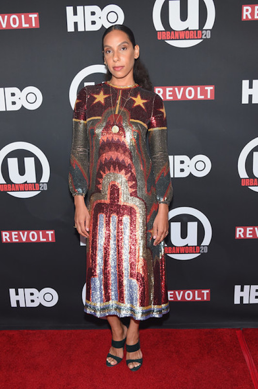 Melina at the 2016 Urbanworld Film Festival 'Insecure' Screening in Valentino