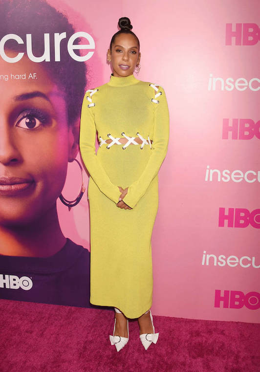 Melina at the 2016 'Insecure' Premiere After Party in Proenza Schouler