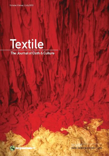 U.S. Exhibition Reviews Editor, Textile: The Journal of Cloth and Culture, Taylor & Francis, London, UK, 2014-present