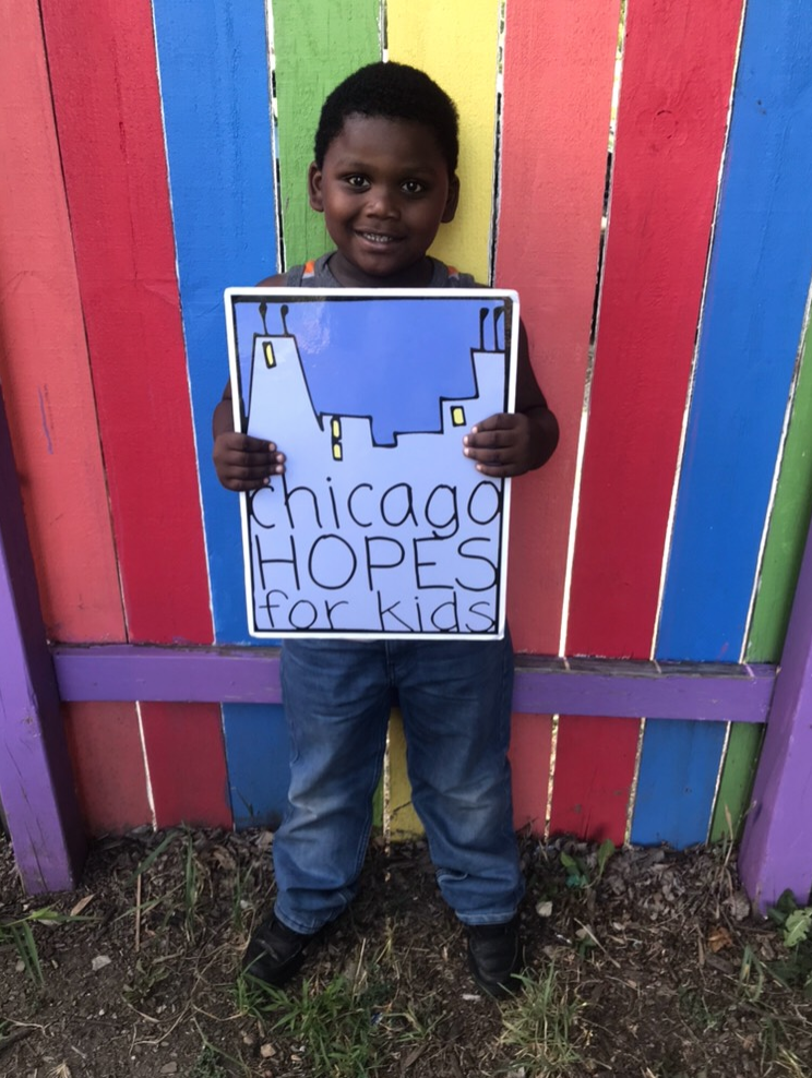 Sample Post- Facebook - This Giving Tuesday I'm asking for donations to support Chicago HOPES for Kids, a nonprofit providing education programs for children living in Chicago's homeless shelters. I am raising funds to reach more emergent readers in 2019 with critical literacy tools, assessment and inspiration to help them become proficient readers. HOPES is focusing on this group because we know that 80% of third graders reading above grade level will graduate high school. With greater investment in literacy, HOPES can do more to address student needs and encourage a lifelong love of reading. Please donate to my fundraiser below!Click Below to Download Photo.https://bit.ly/2qFrjTT