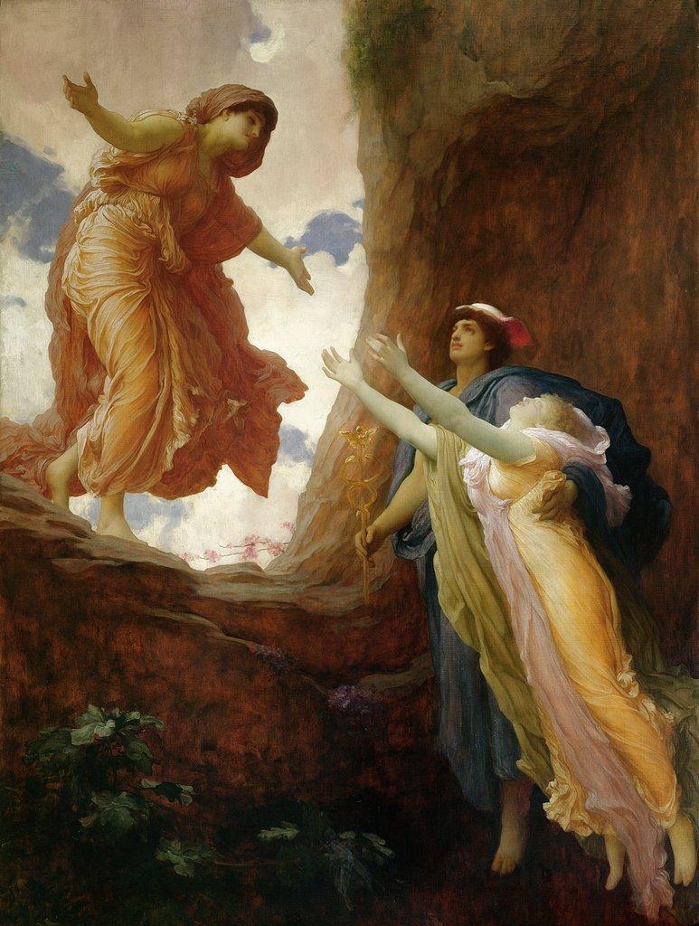 Frederic Leighton,  The Return of Persephone , 1891