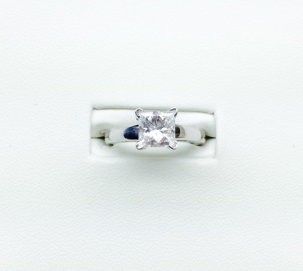1.00-5.00 Carat Solitaires in and  Shapes.