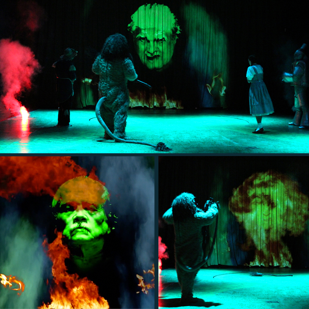 The Wizard of Oz : Westchester Broadway Theater Video Design