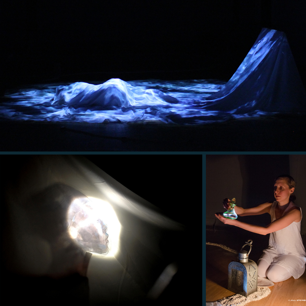 Row: The Woman Who Rows the Boat of Her Imagination : Brooklyn Arts Exchange Scenic, Object & Video Design