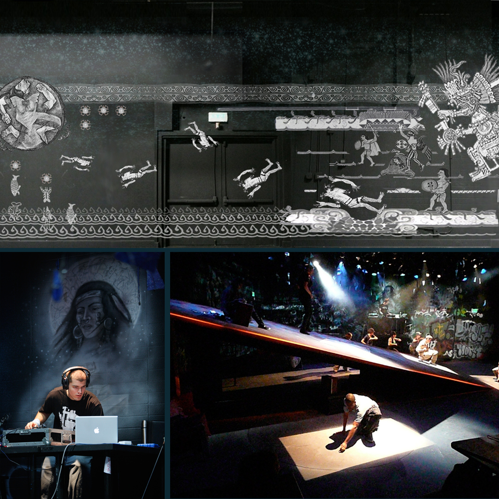 blu : CalArts Ensemble Theatre I Scenic Design