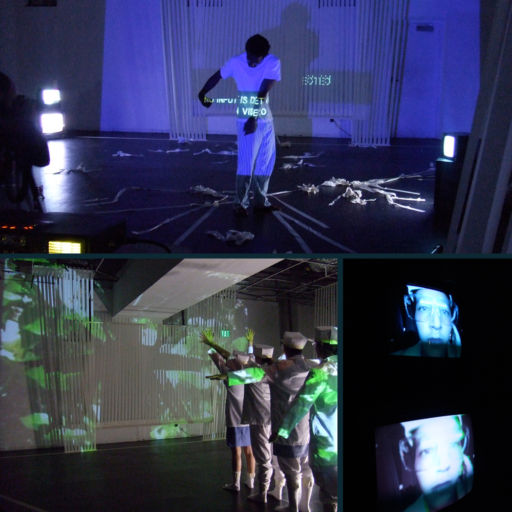 How to Disappear Completely and Never be Found : CalArts New Works Festival Video Design
