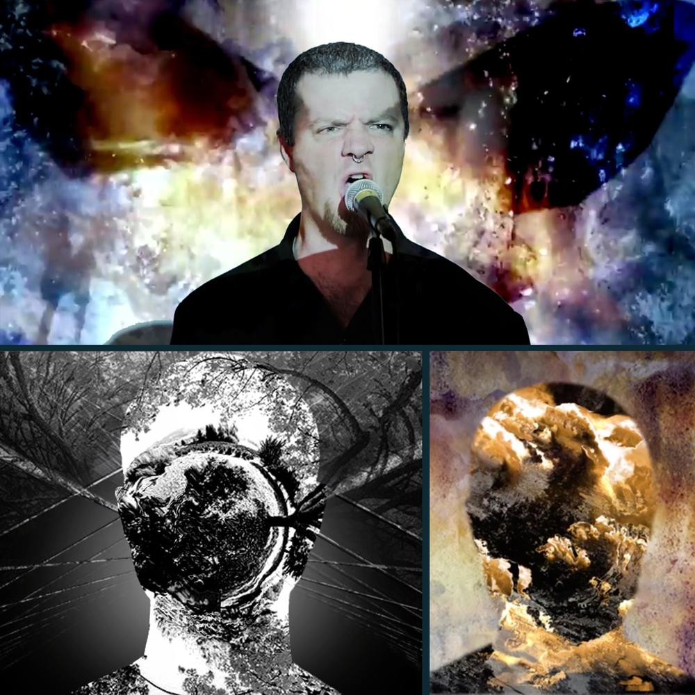 seven)suns : Heavy Metal String Quartet Video Design