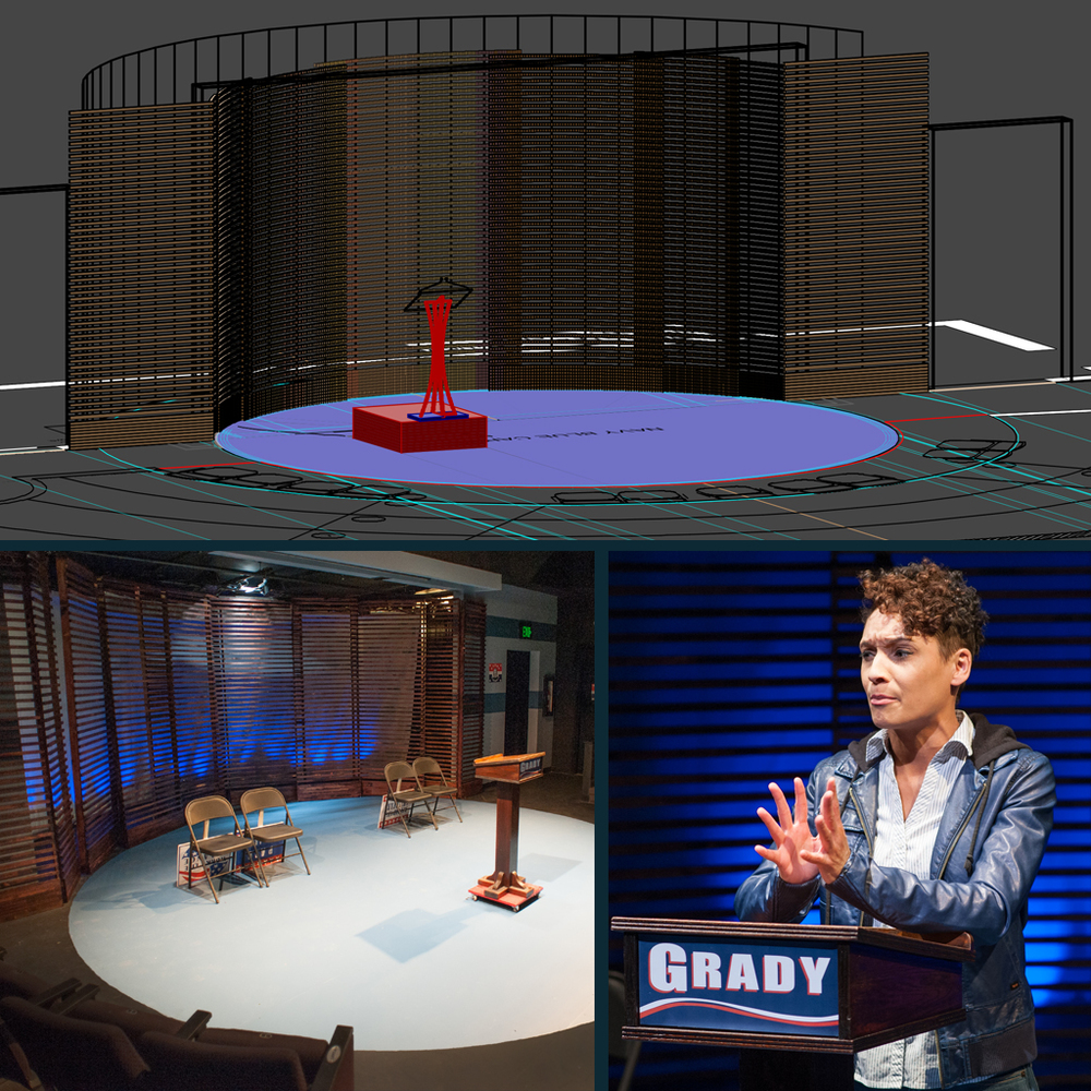 Gross Domestic Product : Hartbeat Ensemble Scenic Design