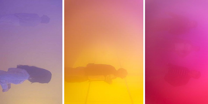 Art:  Ann Veronica Janssens