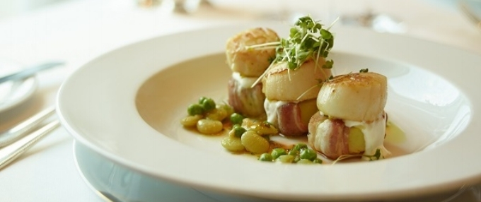 Dish by Thomas Keller at The Grill, The Cruise Line