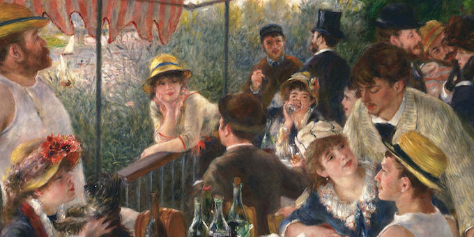 Art: Luncheon of the Boating Party, Pierre-Auguste Renoir