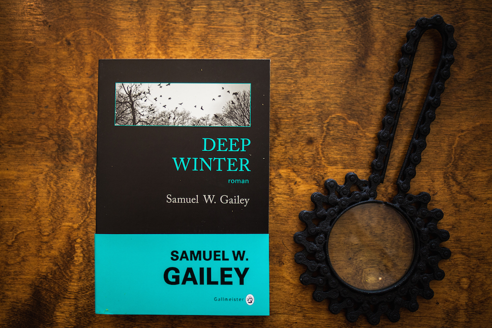 The French book cover for Deep WInter