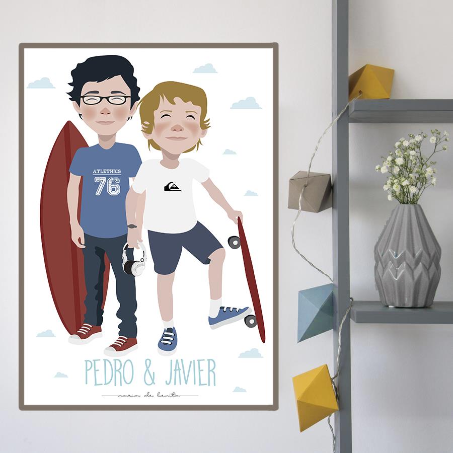 niños-hermanos-ilustracion-personalizada-dibujo-mdebenito.jpg