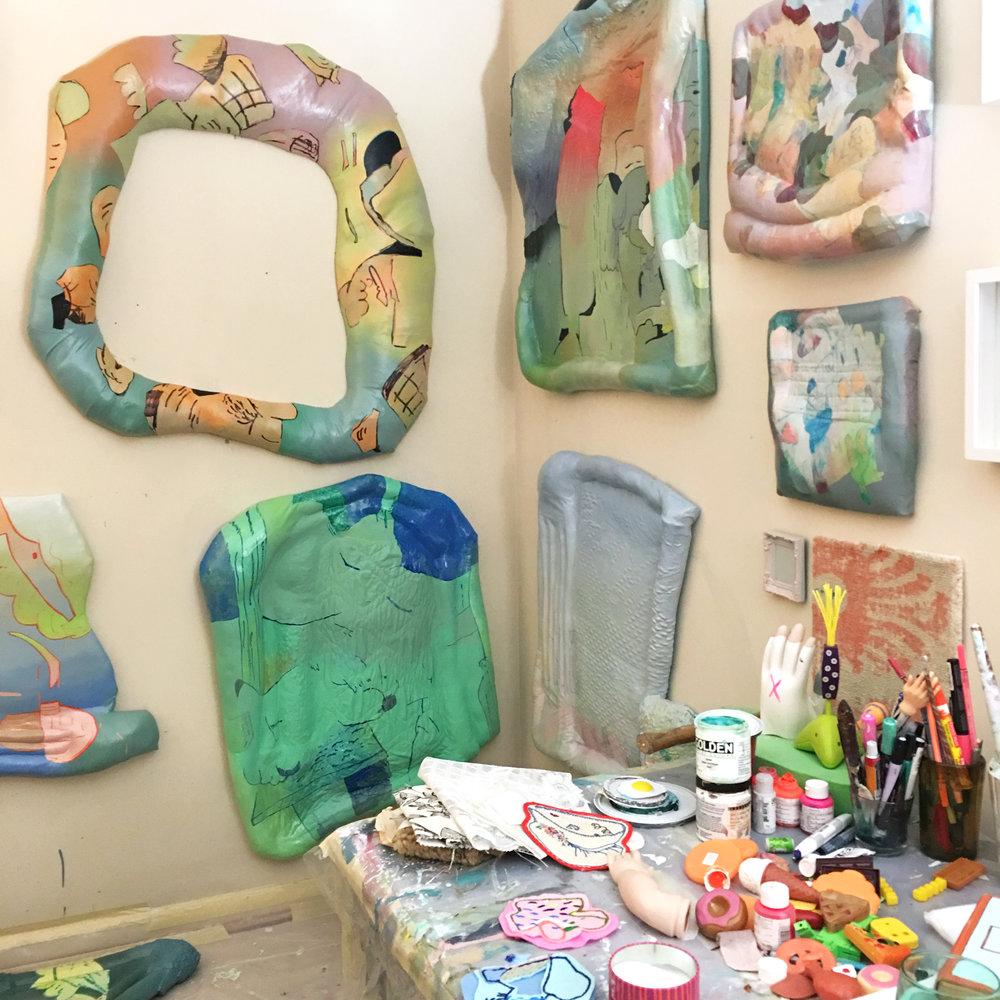 Amelia Briggs' Studio