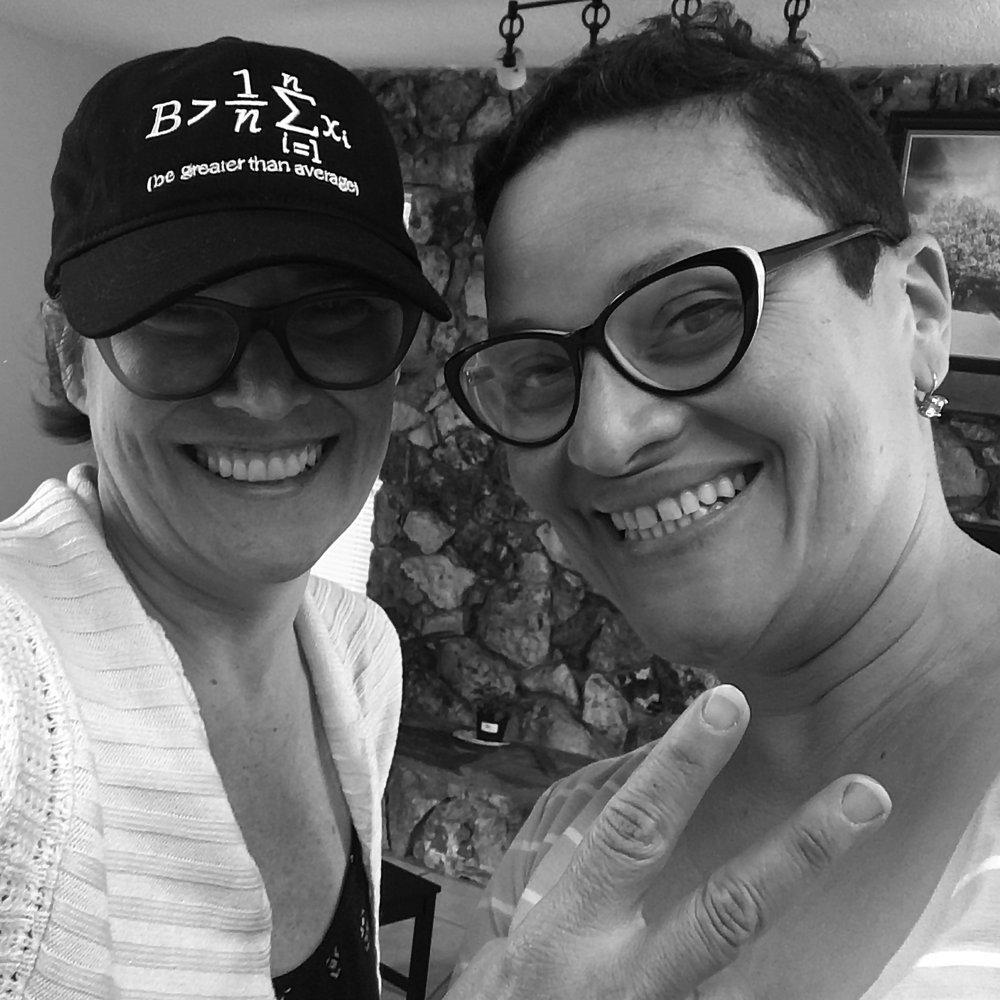 Vivian Liddell and Wanda Raimundi-Ortiz