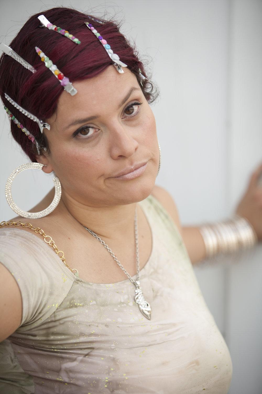 """Wanda Raimundi-Ortiz as """"Ask Chuleta"""""""