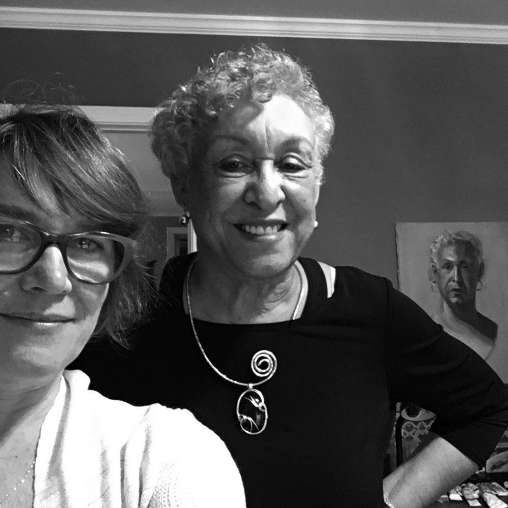 Vivian Liddell and Yvonne Studevan
