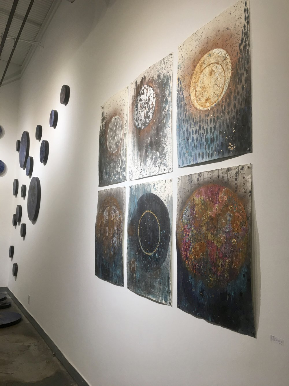 From Corrina Sephora's Exhibition  Between the Deep Blue Sea and the Universe