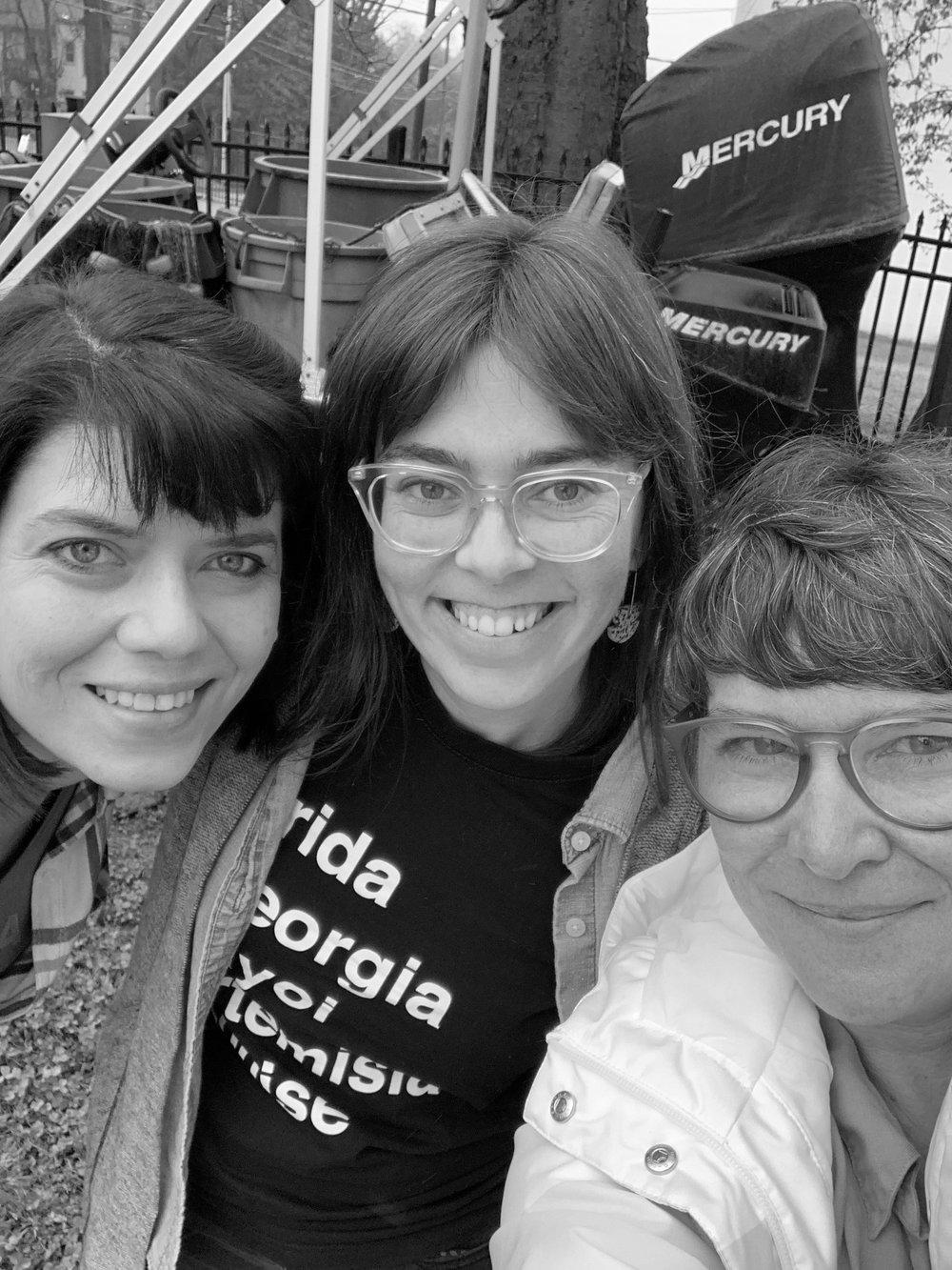 Left to right: Meredith Lynn, Katie Hargrave & Vivian Liddell
