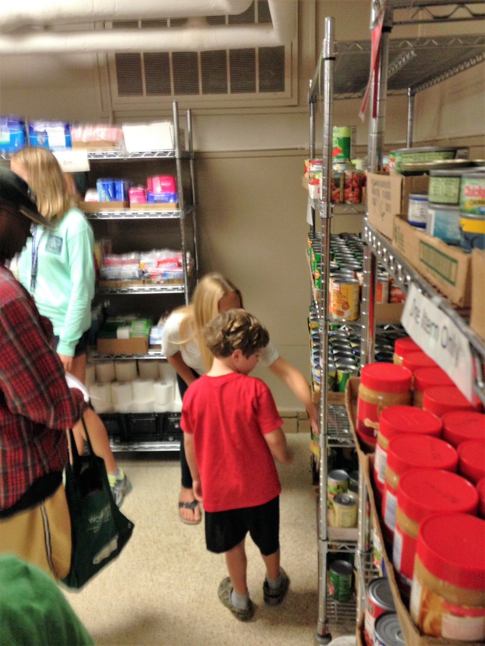 KIDS on a Mission: Riverwest Food Pantry
