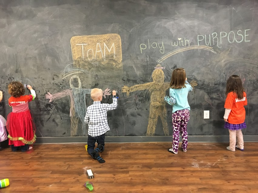 TOAM's Play with Purpose Day at Little Sprouts Play Cafe