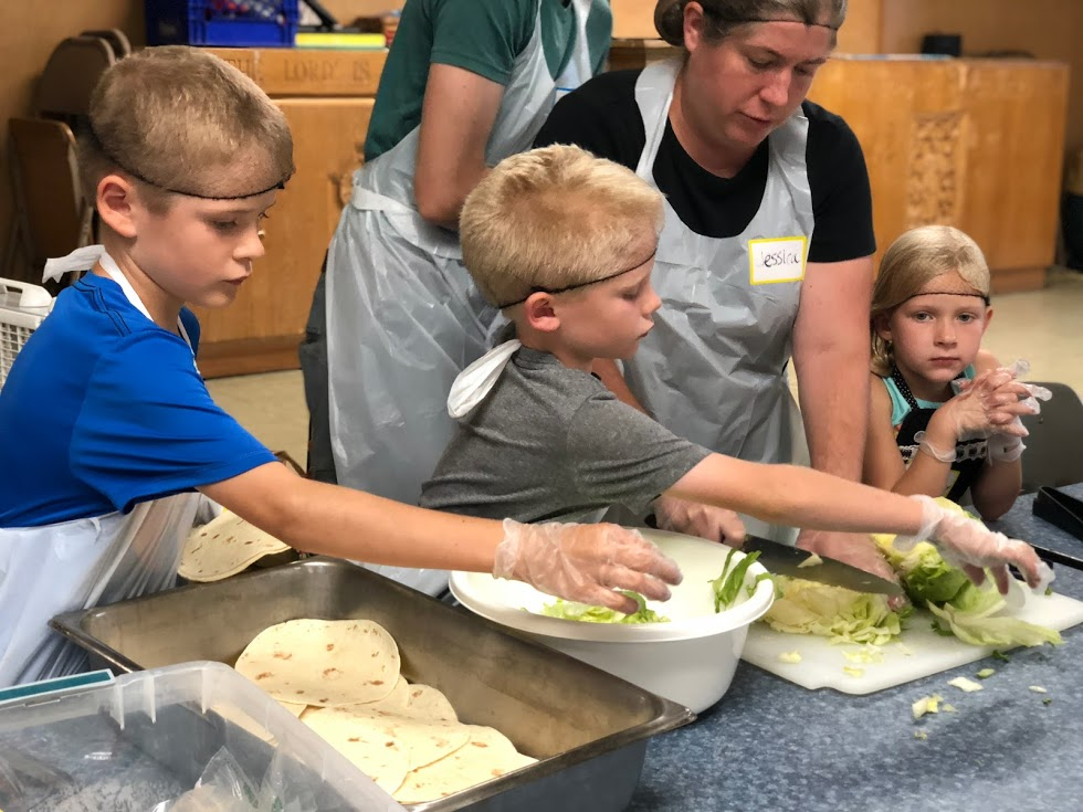 St. Vincent De Paul Meal Prep and Serve: September