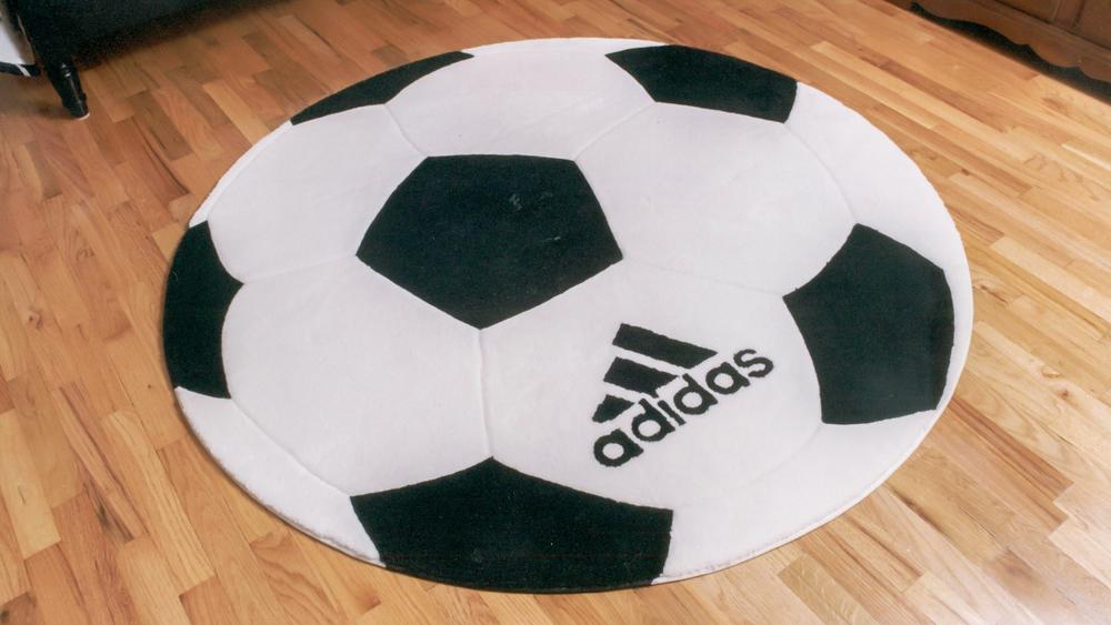 Adidas Logo on a Soccer Ball