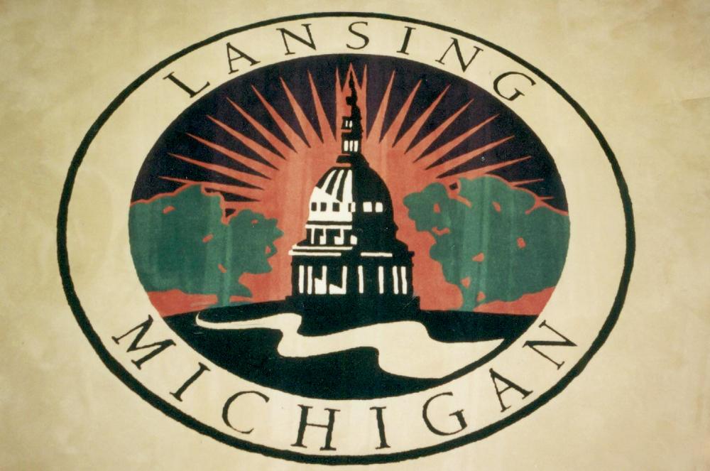 Lansing Michigan Custom Logo