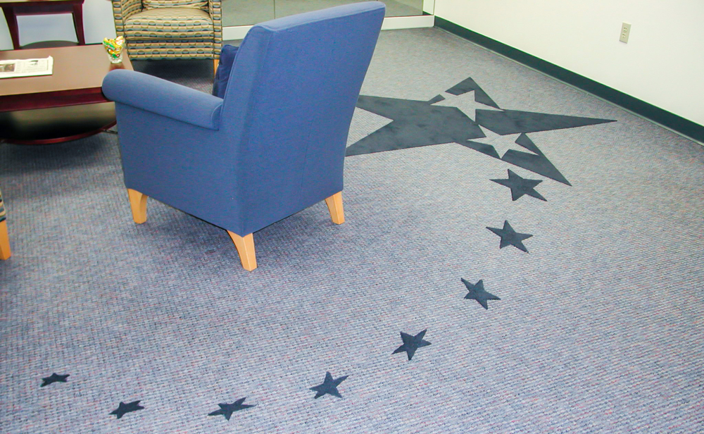 Lansing Community College Inset Logo with Stars