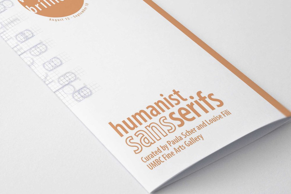 Humanist Sans Serifs Exhibition