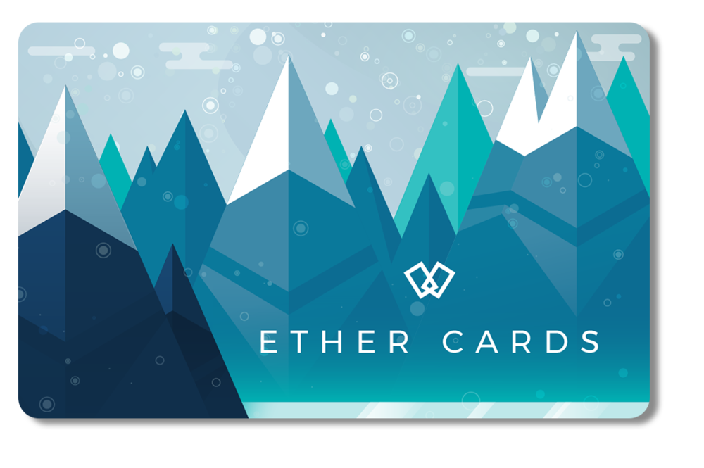 2017 ether.cards Seasonal Design: Front