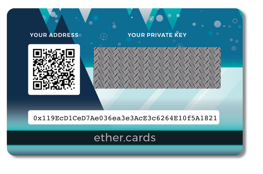 2017 ether.cards Seasonal Design: Back