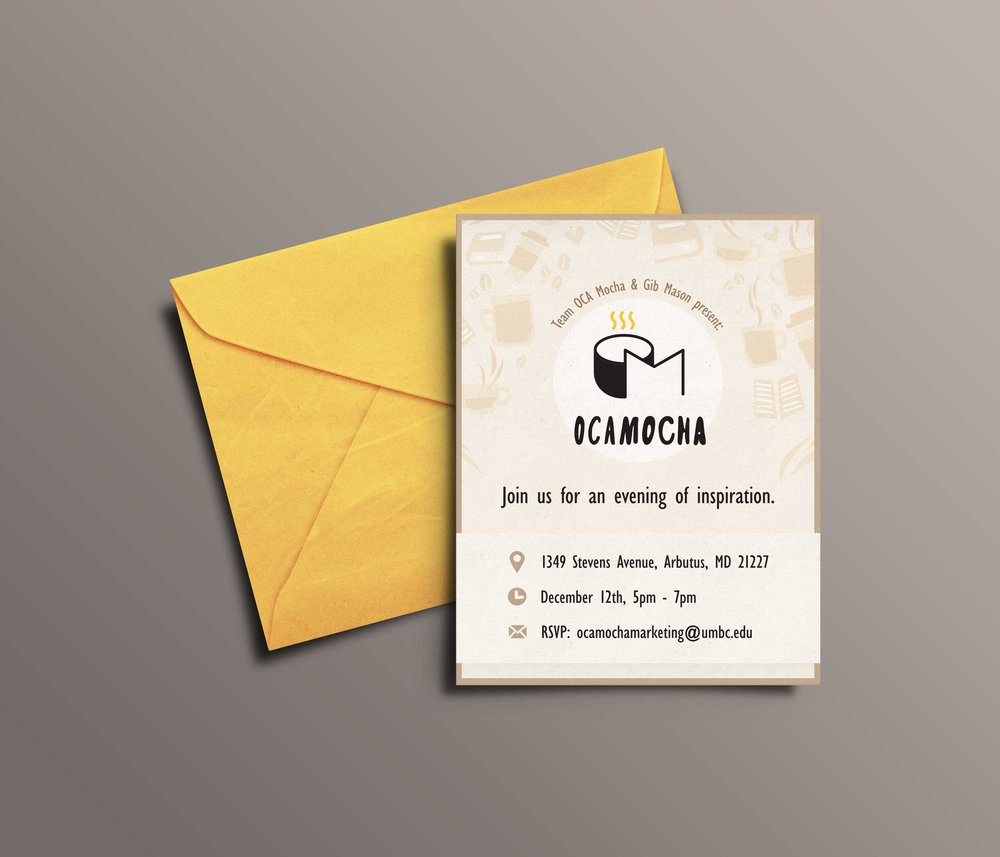 OCAMocha Print Invitation